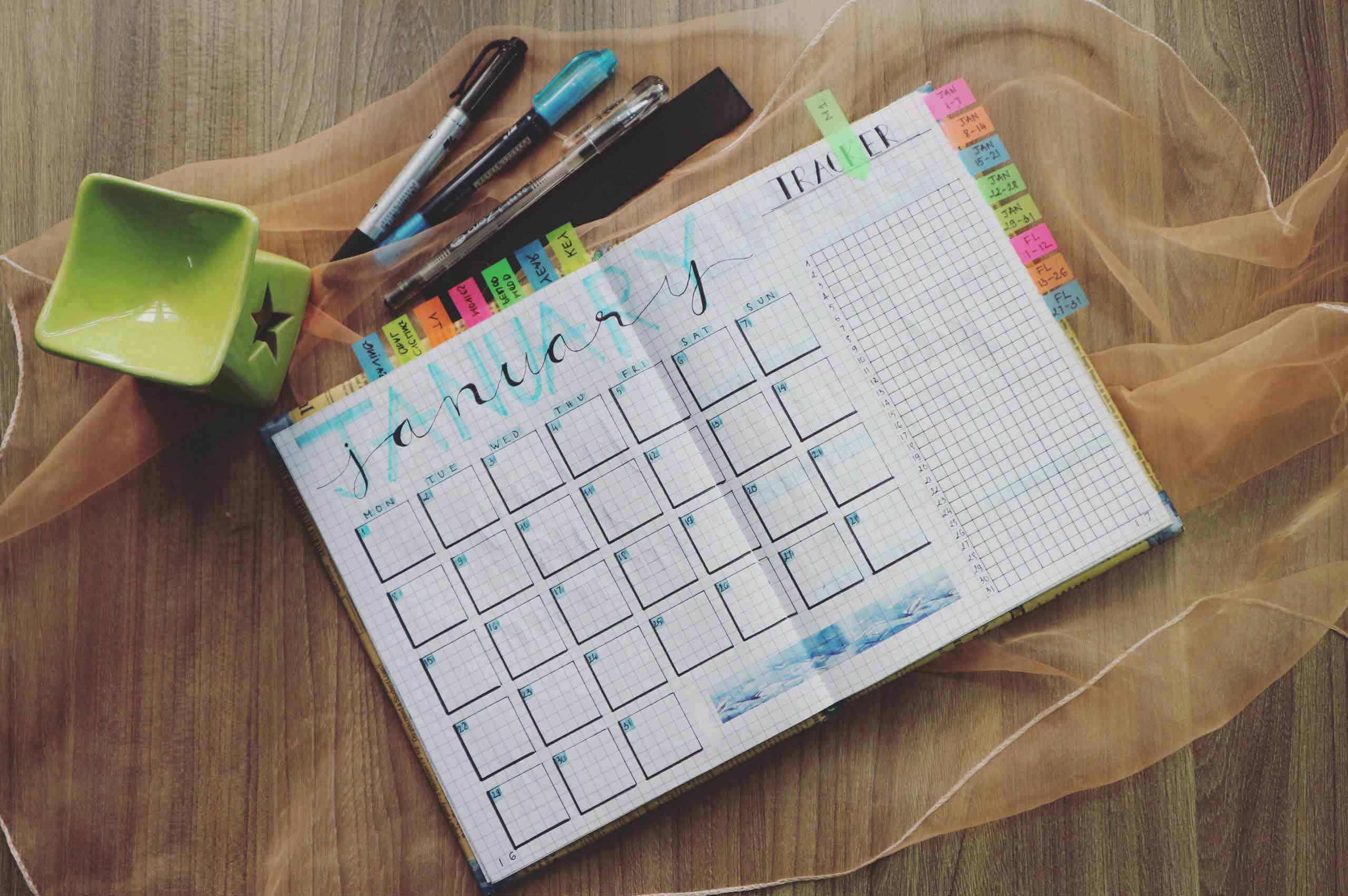 Mini Schedule planner for task & time management