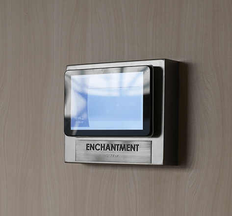Hotel Features Image displaying enchantment device